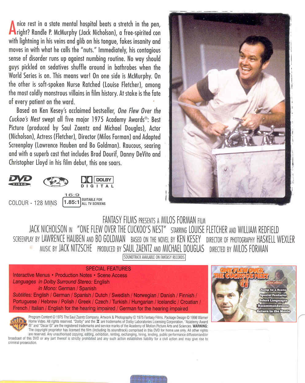 one flew over cuckoo s nest source mental illness